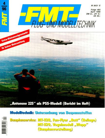 FMT - FLUGMODELL UND TECHNIK March 31, 1996 00:00