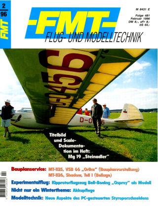 FMT - FLUGMODELL UND TECHNIK 02/1996