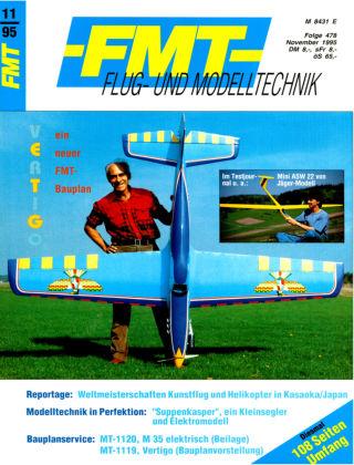 FMT - FLUGMODELL UND TECHNIK 11/1995