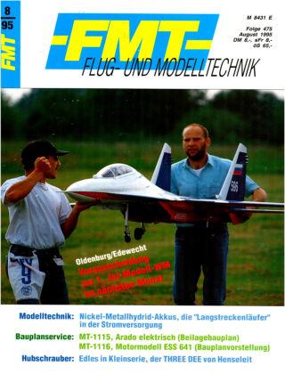 FMT - FLUGMODELL UND TECHNIK 08/1995