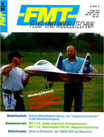 FMT - FLUGMODELL UND TECHNIK July 30, 1995 00:00