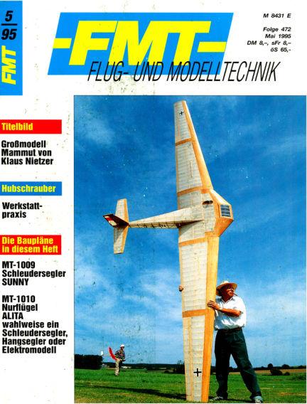 FMT - FLUGMODELL UND TECHNIK April 30, 1995 00:00