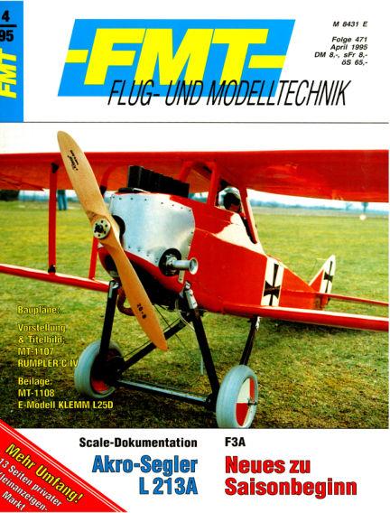 FMT - FLUGMODELL UND TECHNIK March 26, 1995 00:00