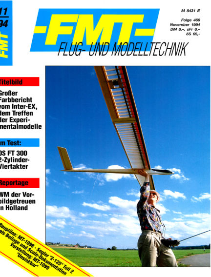 FMT - FLUGMODELL UND TECHNIK October 30, 1994 00:00