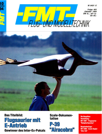FMT - FLUGMODELL UND TECHNIK September 25, 1994 00:00