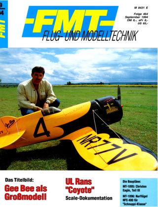 FMT - FLUGMODELL UND TECHNIK 09/1994