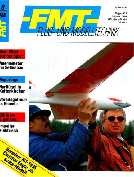 FMT - FLUGMODELL UND TECHNIK July 31, 1994 00:00