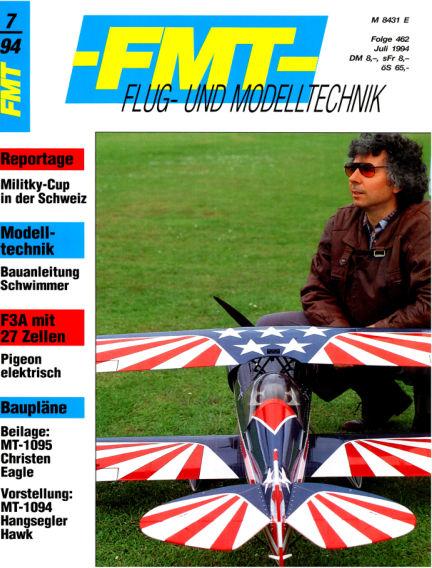 FMT - FLUGMODELL UND TECHNIK June 26, 1994 00:00