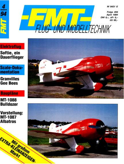 FMT - FLUGMODELL UND TECHNIK March 27, 1994 00:00