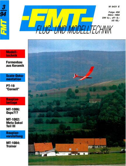 FMT - FLUGMODELL UND TECHNIK February 27, 1994 00:00