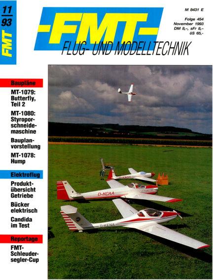 FMT - FLUGMODELL UND TECHNIK October 31, 1993 00:00