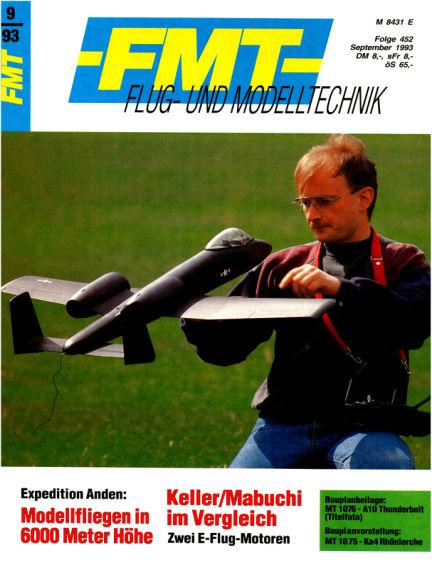 FMT - FLUGMODELL UND TECHNIK August 29, 1993 00:00