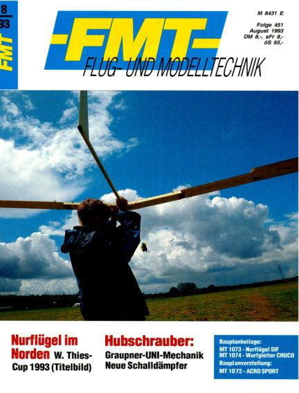 FMT - FLUGMODELL UND TECHNIK July 25, 1993 00:00