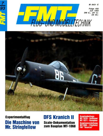 FMT - FLUGMODELL UND TECHNIK June 27, 1993 00:00