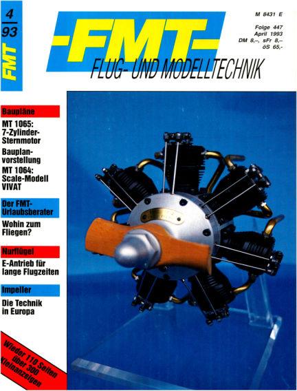 FMT - FLUGMODELL UND TECHNIK March 28, 1993 00:00
