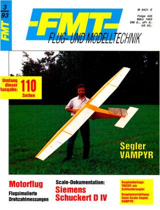 FMT - FLUGMODELL UND TECHNIK 03/1993