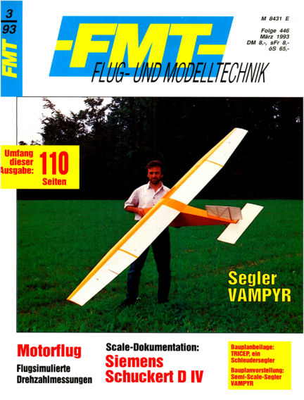FMT - FLUGMODELL UND TECHNIK February 28, 1993 00:00