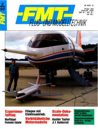 FMT - FLUGMODELL UND TECHNIK 02/1993