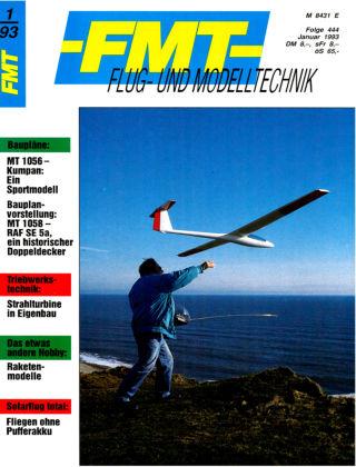 FMT - FLUGMODELL UND TECHNIK 01/1993