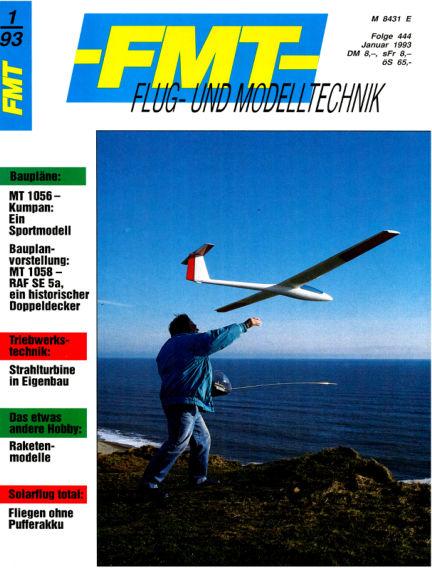 FMT - FLUGMODELL UND TECHNIK December 27, 1992 00:00