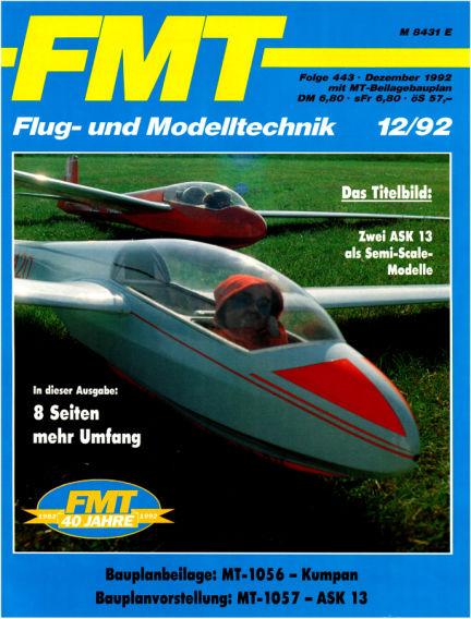 FMT - FLUGMODELL UND TECHNIK November 29, 1992 00:00
