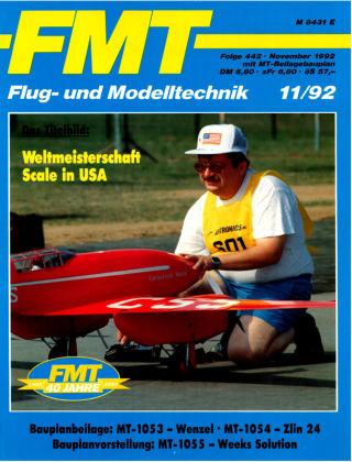 FMT - FLUGMODELL UND TECHNIK 11/1992