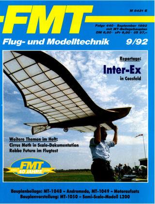 FMT - FLUGMODELL UND TECHNIK 09/1992