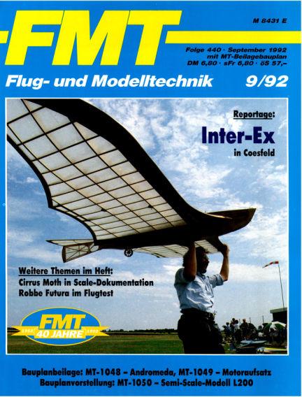 FMT - FLUGMODELL UND TECHNIK August 30, 1992 00:00