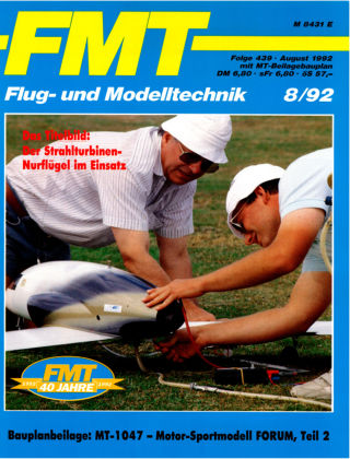 FMT - FLUGMODELL UND TECHNIK 08/1992