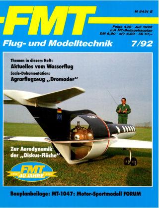 FMT - FLUGMODELL UND TECHNIK 07/1992