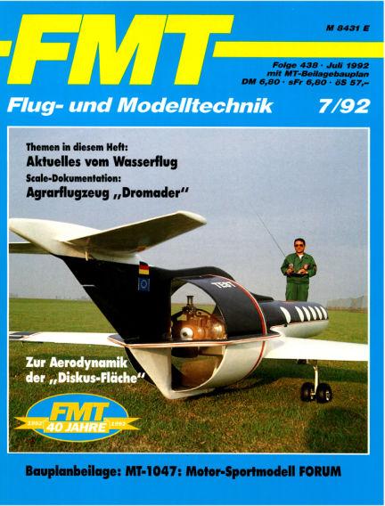 FMT - FLUGMODELL UND TECHNIK June 28, 1992 00:00