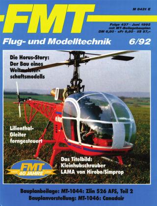FMT - FLUGMODELL UND TECHNIK 06/1992