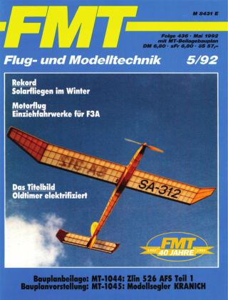 FMT - FLUGMODELL UND TECHNIK 05/1992