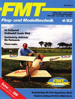 FMT - FLUGMODELL UND TECHNIK 04/1992
