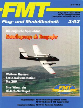 FMT - FLUGMODELL UND TECHNIK 03/1992