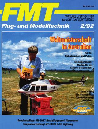 FMT - FLUGMODELL UND TECHNIK 02/1992
