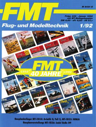 FMT - FLUGMODELL UND TECHNIK 01/1992
