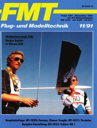 FMT - FLUGMODELL UND TECHNIK 11/1991