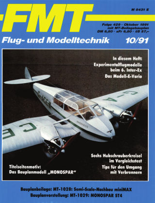 FMT - FLUGMODELL UND TECHNIK 10/1991