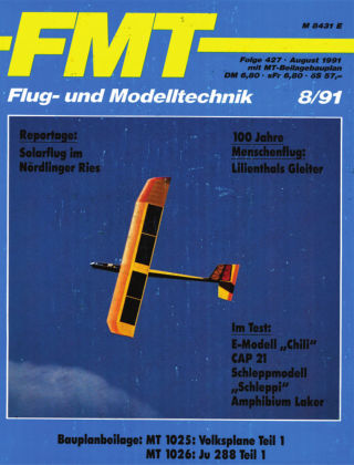 FMT - FLUGMODELL UND TECHNIK 08/1991