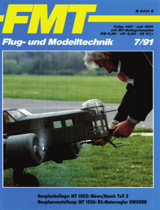 FMT - FLUGMODELL UND TECHNIK 07/1991