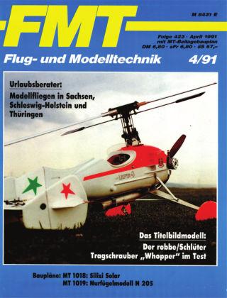 FMT - FLUGMODELL UND TECHNIK 04/1991