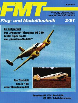 FMT - FLUGMODELL UND TECHNIK 02/1991