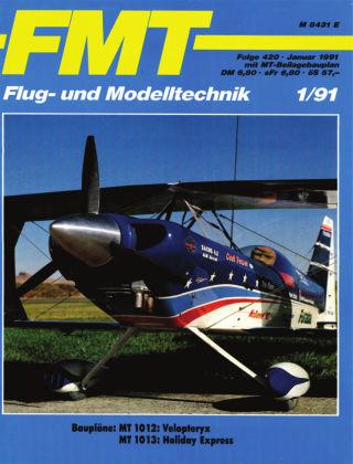 FMT - FLUGMODELL UND TECHNIK 01/1991