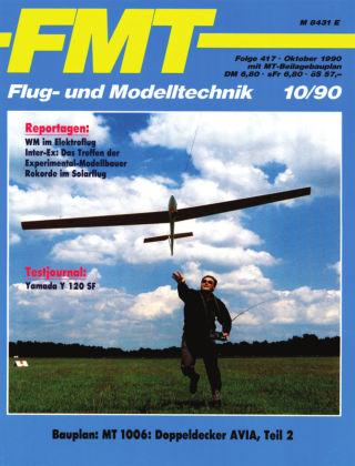 FMT - FLUGMODELL UND TECHNIK 10/1990