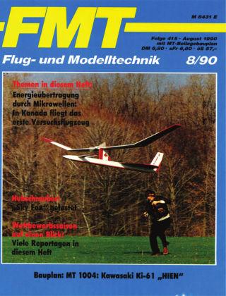 FMT - FLUGMODELL UND TECHNIK 08/1990