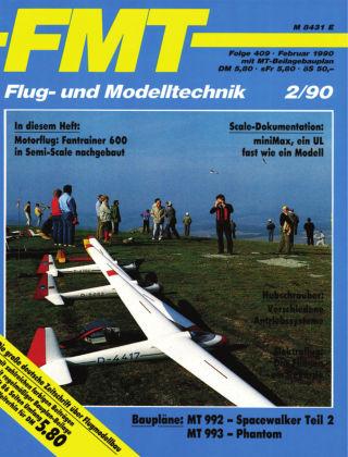 FMT - FLUGMODELL UND TECHNIK 02/1990