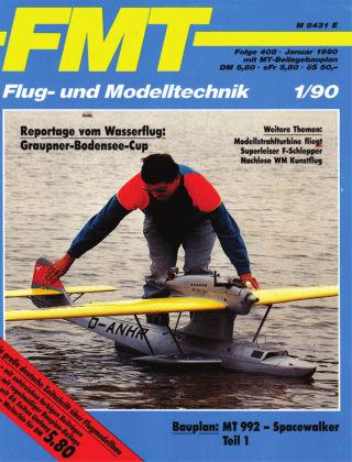 FMT - FLUGMODELL UND TECHNIK 01/1990