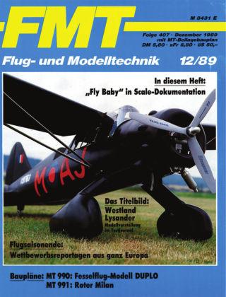 FMT - FLUGMODELL UND TECHNIK 12/1989