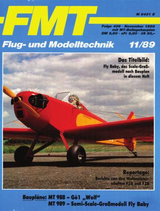 FMT - FLUGMODELL UND TECHNIK 11/1989